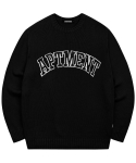 아파트먼트() Pima Cotton Like Honey Knit - Black
