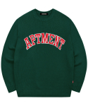 아파트먼트(APARTMENT) Pima Cotton Like Honey Knit -Green