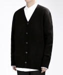 베리베인() TP80 WELL-MADE KNIT CARDIGAN (BLACK)