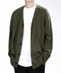베리베인() TP80 WELL-MADE KNIT CARDIGAN (KHAKI)