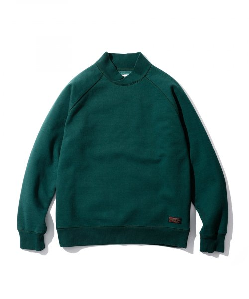 에스피오나지(ESPIONAGE) Chase Shawl Collar Sweat Dark Green