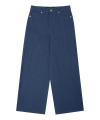 MG7F DENIM WIDE PANTS (BLUE)