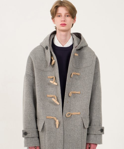 9F Oversized Duffle Coat(GRAY)