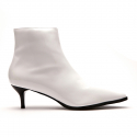 피어포() Pier4_Point Toe Boots_White