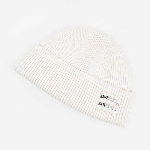 에이징씨씨씨(AGINGCCC) 249# AKTS-03 ID WATCH CAP WHITE