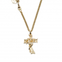에이징씨씨씨(AGINGCCC) 253# MEXICAN CROSS&SKULL NECKLACE