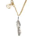 에이징씨씨씨(AGINGCCC) 254# SOLIDBRASS FEATHER NECKLACE-NO.1