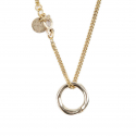 에이징씨씨씨(AGINGCCC) 256# SOLIDBRASS RING NECKLACE