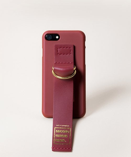 세컨드유니크네임(SECOND UNIQUE NAME) SUN CASE LEATHER BURGUNDY
