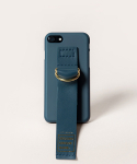 세컨드유니크네임(SECOND UNIQUE NAME) SUN CASE LEATHER GREENNAVY