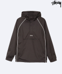 스투시(STUSSY) STUSSY HO17  3M-PIPING-PULLOVER-BLACK