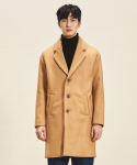 트립르센스() Thinsulate 3 Button Wool Coat BEIGE