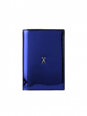 조셉앤스테이시(JOSEPH&STACEY) Easysafe Flap It Passport Wallet Mirror Blue
