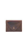 Easypass Amante Card Wallet Mirror Brown