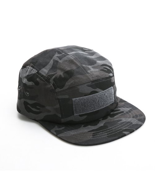 디얼스(THE EARTH) VELCRO CAMP CAP - CAMO GREY