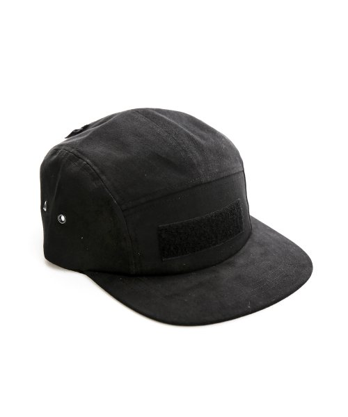 디얼스(THE EARTH) VELCRO CAMP CAP - BLACK