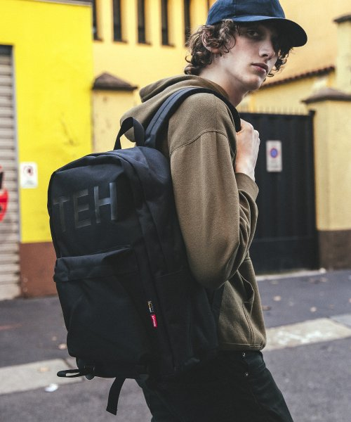 디얼스(THE EARTH) TEH DAYPACK - BLACK