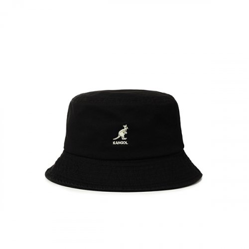 캉골(KANGOL) Washed Bucket 4224 BLACK