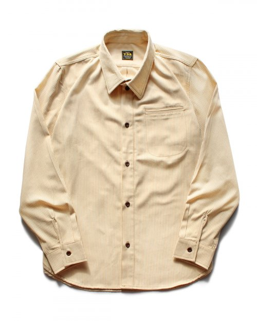 비디알(VDR) BAMBOO HICKORY SHIRTS [Yellow]