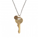 에이징씨씨씨(AGINGCCC) 164#  CHICAGO KEY NECKLACE