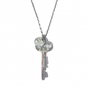 에이징씨씨씨(AGINGCCC) 195# V HOTEL KEY NECKLACE NO.3