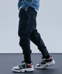 낫포너드(NOT4NERD) N4ND Cargo Jogger Pants - Black