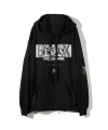 GUERRILLA GROUP / SUPERVILLIAN HOODIE (리버서블) / BLACK