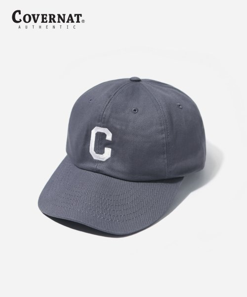 커버낫(COVERNAT) EMBROIDERY C LOGO B.B CAP GRAY