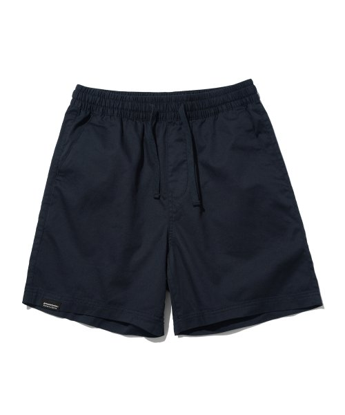 그루브라임(GROOVE RHYME) BASIC HALF PANTS (NAVY) [GSP020H23NA]