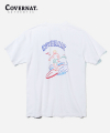 S/S SURFER MAN TEE WHITE