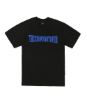 더쇼즈낫오버() THESHOWSNOTOVER CRUSH LOGO T-SHIRT BK