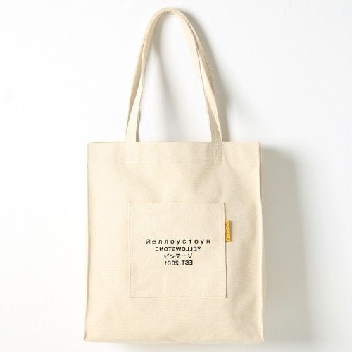 옐로우스톤(YELLOWSTONE) 숄더백 PREMIUM CANVAS BAG -YS2028IR /IVORY