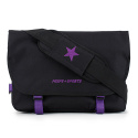 핍스(PEEPS) essential messenger bag_vivid edit(vivid black)