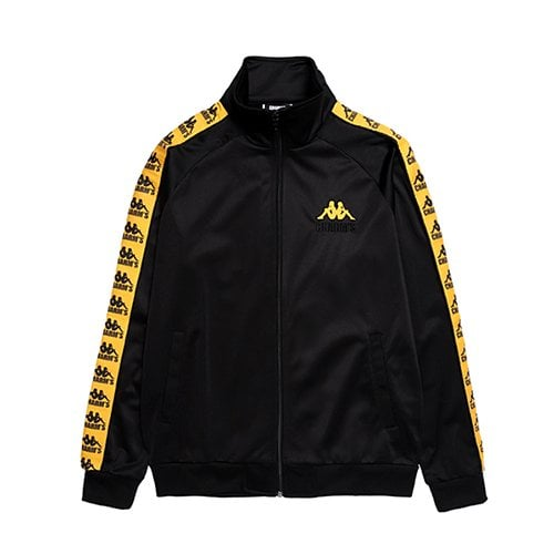참스(CHARM'S) CHARMS x KAPPA 222BANDA TRAINING JACKET YELLOW 18SS