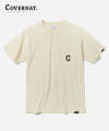 S/S C LOGO EMBROIDERY POCKET TEE CREAM