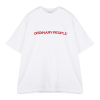 [Unisex] ORDINARY CUTTING DETAIL WHITE T-SHIRT