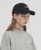 18SS YOUTIFUL EMBROIDERED BASEBALL CAP - BLACK