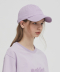 18SS YOUTIFUL EMBROIDERED BASEBALL CAP - LAVENDER