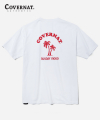 S/S COOPER PALM TREE TEE WHITE