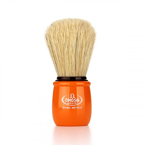 오메가브러쉬(OMEGABRUSH) shaving brush 10051 ORANGE