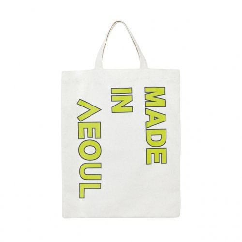 노앙(NOHANT) MADE IN SEOUL ECO BAG LIME