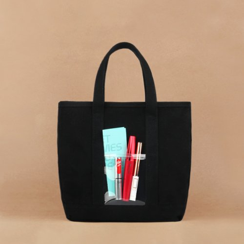 모노노(MONONO) Water Mini Bag (미니백) - Oxford Cotton Black (Cotton 100)