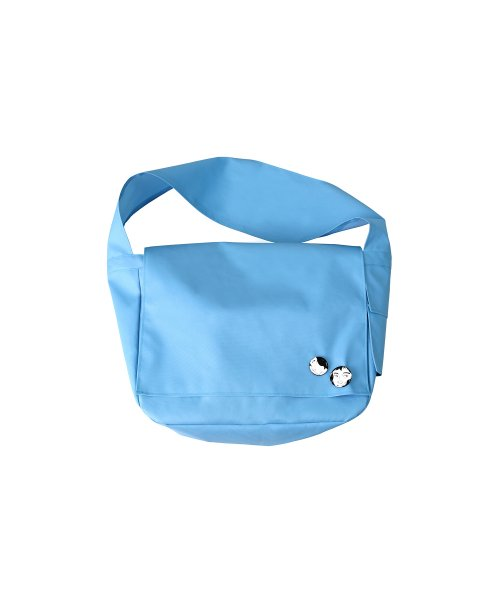 아조바이아조 오리지널 라벨(AJOBYAJO ORIGINAL LABEL) Plain Messenger Bag [Sky Blue]