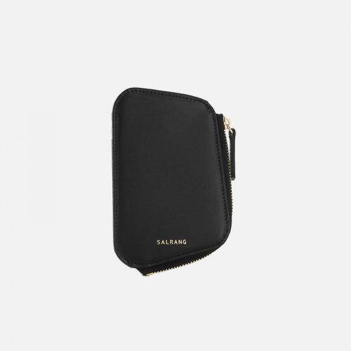 살랑(SALRANG) Reims Pebble Card Wallet black