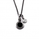 아벤투라() 아벤투라 18AN-05 Avventura rope onyx gem necklace
