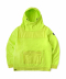 FACE MASK HOODIE - NEON GREEN