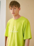 에이글로우(AGLOWW) SIGNITURE LOGO SHORT SLEEVE NEON YELLOW