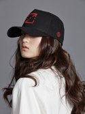 싱클레어(SINCLAIR) FURY 3D LOGO BALL CAP BLACK