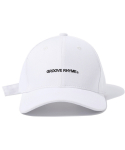 그루브라임() BUCKLE BALL CAP (WHITE) [GCA001G13WH]
