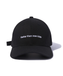 그루브라임() BUCKLE BALL CAP (BLACK) [GCA009G13BK]